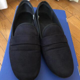 ムジルシリョウヒン(MUJI (無印良品))の無印良品 オペラシューズ 濃紺 24cm(スリッポン/モカシン)