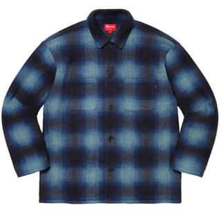 Supreme - Supreme 20AW Shadow Plaid Shirt Blue XL