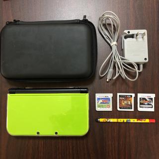 ニンテンドー3DS - ニンテンドー 3DS LL   本体 ライム セット