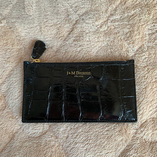 J&M DAVIDSON - J&M DAVIDSON キーケース コインケース ブラック 黒 クロコ