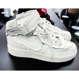COMME des GARCONS - NIKE AIR FORCE 1 MID GARCONS ギャルソン 27.5