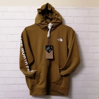 THE NORTH FACE - 【新品】THE NORTH FACE SWEAT Ws HOODIE L カーキ