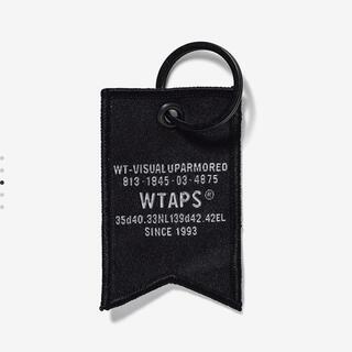 W)taps - ダブルタップス  キーホルダー ブラック WTAPS KEY HOLDER