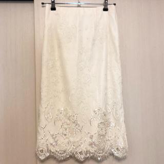 GRACE CONTINENTAL - ダイアグラム レース刺繍 スカート