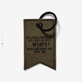 W)taps - ダブルタップス  キーホルダー オリーブ WTAPS KEY HOLDER