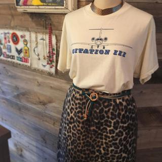 エディットフォールル(EDIT.FOR LULU)のvintage leopard skirt(ひざ丈スカート)