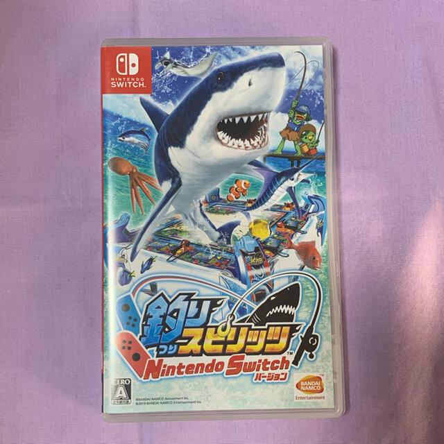 釣りスピリッツ エンタメ/ホビーのゲームソフト/ゲーム機本体(家庭用ゲームソフト)の商品写真