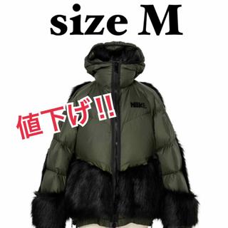 サカイ(sacai)のサカイ×ナイキ Mサイズ Nike x sacai Women's Parka(ダウンジャケット)