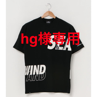 HYSTERIC GLAMOUR - HYSTERIC GLAMOUR/WIND AND SEA【Tシャツ】