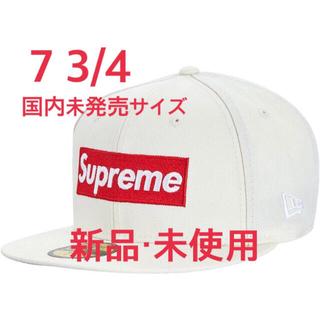 Supreme - 【新品】SUPREME × NewEra Box Logo Cap White