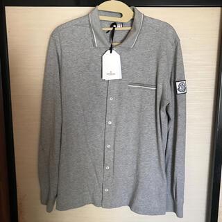 モンクレール(MONCLER)のMONCLER モンクレール ガムブルー メンズ シャツ カーディガン XL(シャツ)
