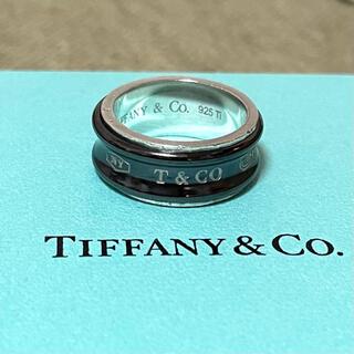 Tiffany & Co. - ティファニー 1837 ナロー リング 指輪 ワイド 11号 ブラックチタン
