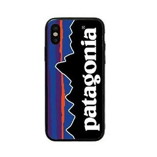 パタゴニア(patagonia)のパタゴニア ガラスケース iPhoneケース dcrm6k(iPhoneケース)