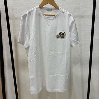 MONCLER - 完売モデル 未使用 定価3.5万 モンクレール ワッペン 襟元リブ編み Tシャツ