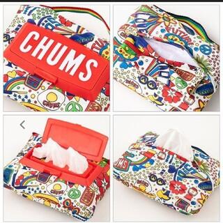 チャムス(CHUMS)のチャムス CHUMS ウェットティッシュケース ポーチ 人気(日用品/生活雑貨)