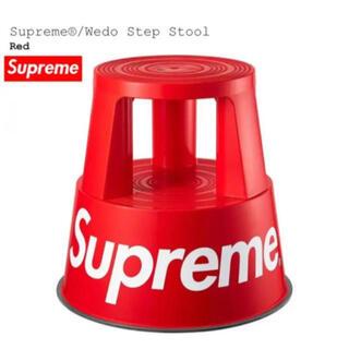 シュプリーム(Supreme)の新品 Supreme Wedo Step Stool 赤 Red  スツール(スツール)