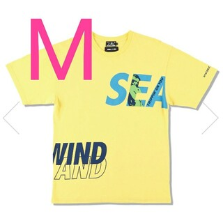 HYSTERIC GLAMOUR - WIND AND SEA × ヒステリックグラマー Tシャツ イエローM