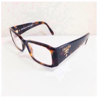 プラダ(PRADA)のPRADAのブルーライトカット眼鏡(オーダーメイド)