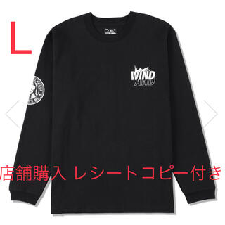 HYSTERIC GLAMOUR - WIND AND SEA HYSTERIC GLAMOUR ロンT L