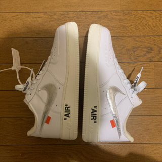 OFF-WHITE - off-white airforce1 moma dude9