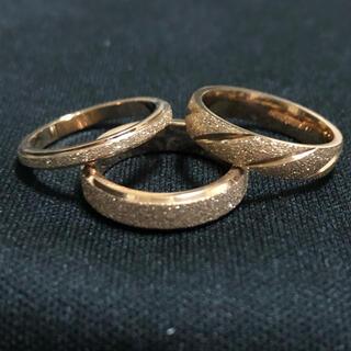 ステンレスリング レディース キラキラ リング 指輪(リング(指輪))
