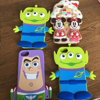Disney - ディズニーiPhoneSEケース