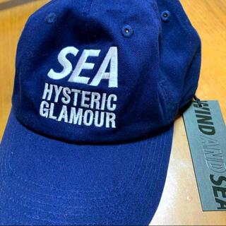 HYSTERIC GLAMOUR - 新品未使用 ヒステリックグラマー×ウィンダンシー  コラボCAP ネイビー