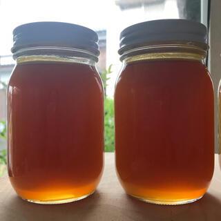 令和2年 日本蜜蜂のハチミツ 1,100g強(2瓶分)