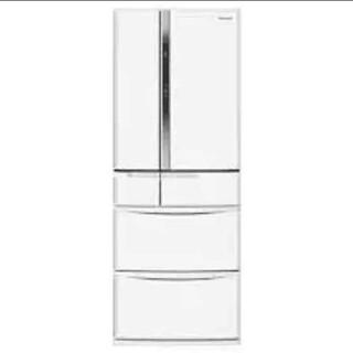 Panasonic - 冷蔵庫 パナソニック ホワイト エコナビ ファミリーサイズ 観音開きドア