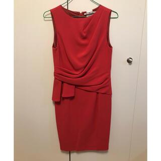 GRACE CONTINENTAL - グレースコンチネンタル レッドドレス