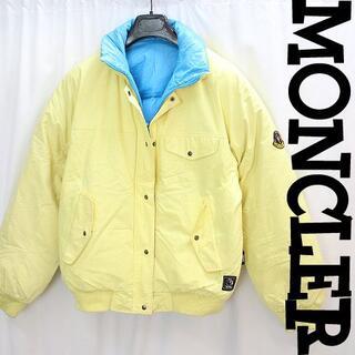 MONCLER - オールドモンクレール肉厚軽量リバーシブル極暖ダウンジャケット ゴアテックス女L