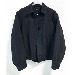 COMOLI - COMOLI 20AW デニムジャケット 1 ブラック ブルゾン デニム コモリ