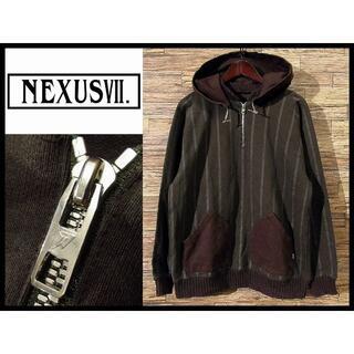 ネクサスセブン(NEXUSVII)のNEXUSVII ネクサスセブン 7 後付け フード プレデター パーカー XL(パーカー)