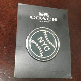 COACH NYC ピンバッジ 非売品