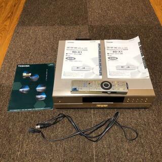 トウシバ(東芝)の【日本初のHDD付き】東芝RD-X1(通電・操作確認済み)【DVDレコーダー】(DVDプレーヤー)