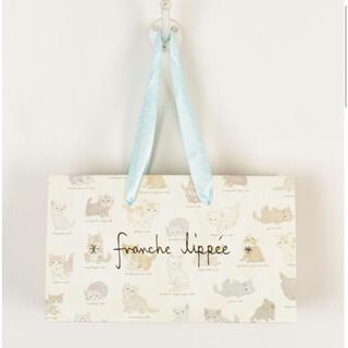 フランシュリッペ(franche lippee)のfranche lippée(フランシュリッペ) ショッピングバッグSSねこ図鑑(ショップ袋)