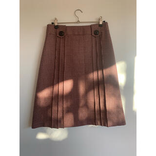 ザラ(ZARA)のウールレトロスカート(ひざ丈スカート)