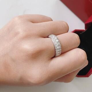 Cartier - 綺麗★Cartierカルティエ リング指輪 レディース 刻印ロゴ