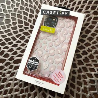 iPhone - 新品⭐︎おしゃれ CASETiFY | レオパード(ヒョウ)柄 iPhone11