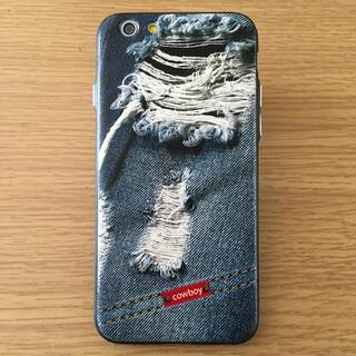iPhone6/6sケースカバー デニムデザインA
