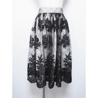 フェイバリット(Favorite)のFavorite/レースレイヤードスカート★154080866001(ひざ丈スカート)