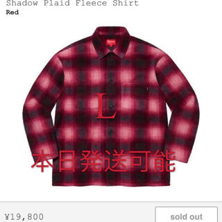 Supreme - Shadow Plaid Fleece Shirt フリース