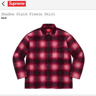 Supreme - Shadow Plaid Fleece Shirt   Mサイズ