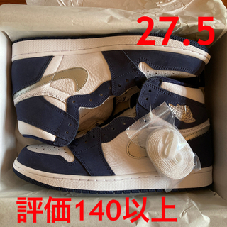 NIKE -  27.5 AJ1 HIGH OG CO JP midnight navy