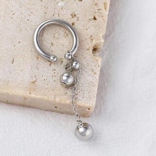 フリークスストア(FREAK'S STORE)のBall chain silver earcuff No.414(イヤーカフ)