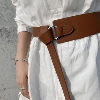 TODAYFUL - Waist ring belt BROWN No.505