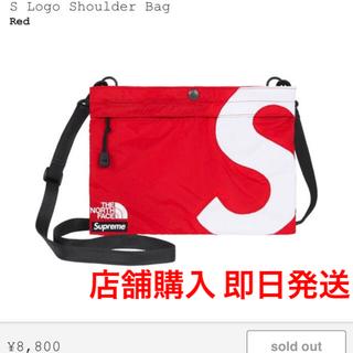 Supreme - Supreme / tnf S Logo Shoulder Bag Red