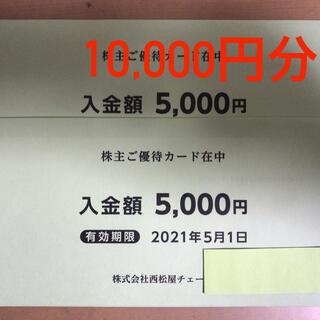 西松屋 - 西松屋 株主優待 10,000円分