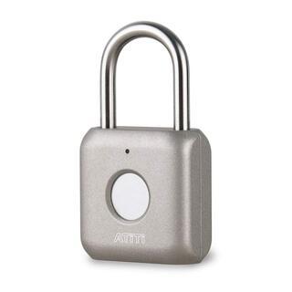 ATITI 南京錠 指紋認証 タッチロック 指紋ロック 快速認証 2 R1540