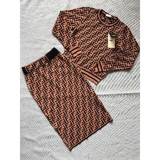 FENDI - 新品★FENDIフェンディ 2点セット セーター ロングスカート L